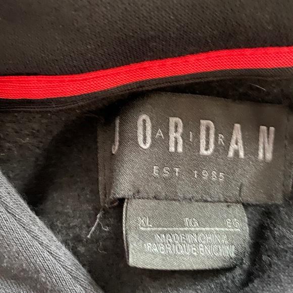 Jordan Sweaters | Jordan Branded Hoodie In Euc | Poshmark